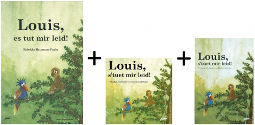 Louis, es tut mir leid! (SET: Bilderbuch, Audio-CD, Liederheft)